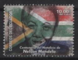 Ecuador (2018) - Set -  /  Nelson Mandela - Nobel - Nobelprijs