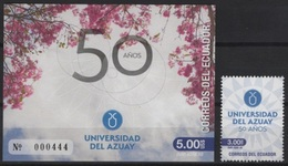 Ecuador (2018) - Set + Block -   /  University  - Universidad - Universite - Azuay - Ecuador