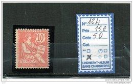 FRANCE A CHARNIERE * 124 - 1900-02 Mouchon