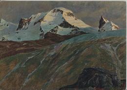 Hans Beat Wieland - Breithorn 1905 - Künstlerkarte - BE Berne