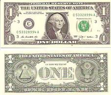 USA  1 Dollar   2009  UNC - Federal Reserve Notes (1928-...)
