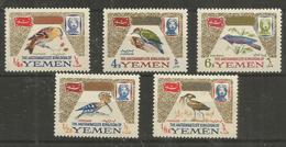 YEMEN - MNH - Animals - Birds - Oiseaux