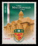 Canada (Scott No.2172 - Collège / MacDonald / College) [**] - 1952-.... Règne D'Elizabeth II