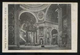 *Roma. Interno Della Basilica Di S. Pietro* Nueva. - Vaticano (Ciudad Del)