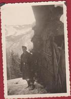 Old Original Photo Oude Foto Duitse Soldaat German Soldier Deutscher Soldat Allemand Wehrmacht WK 2 Weltkieg WW2  WW - Uniformes