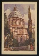 *Giardini Vaticani. La Cupola Di S. Pietro...* Circulada. - Vaticano (Ciudad Del)