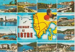 (CRO145) POZDRAV IZ ISTRE - Croacia