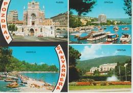 (CRO147) RIJEKA, MEDVEJA, OPATIJA - Croacia