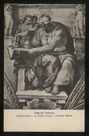 *Michelangiolo. La Sibilla. Cappella Sistina* Ed. Alterocca Nº 9983. Nueva. - Vaticano (Ciudad Del)