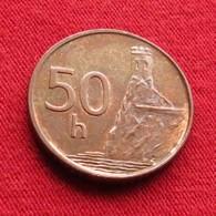 Slovakia 50 Halierov 2000 KM# 35 Eslovaquia Slovaquie - Slovaquie
