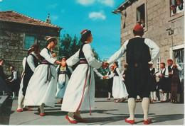 (CRO152) DUBROVNIK. FOLK COSTUMES FROM CILIPI - Croacia