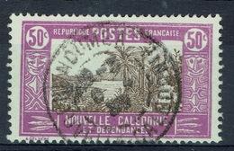 New Caledonia, Traditionnal Hut, 50c., 1928, VFU - New Caledonia