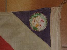 Drapeau De Camps De Jeunesse Française , 1939-45, Armes Neutralisées , Autres Equipement , Mine - Armes Neutralisées