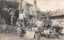 CARTE PHOTO  ALLEMANDE SAINT GOBAIN 1917 TEUFELSHÖHLE  (Souvenir De La CAVERNE Du DIABLE) - Autres Communes