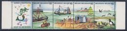 Belgie Belgique Belgium 1988 Mi 2325 /8 YT 2273 /6 ** Gardez La Mere Propre / Keep The Sea Clean / Houdt De Zee Schoon - Umweltverschmutzung