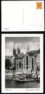 Bund PP2 B2/003 BREMEN WESERPARTIE DOM 1953  NGK 30,00€ - Privatpostkarten - Ungebraucht