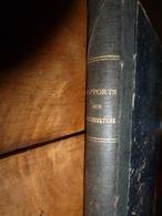 1874 RAPPORTS Sur L'AGRICULTURE Par Eugène Tisserand (avec Dessins Des Matériels Qui étaient Attelés Par Les Chevaux) - Livres, BD, Revues