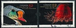 Canada (Scott No.2204-05 - Anée Internationale Polaire / International Polar Year) (o) - 1952-.... Règne D'Elizabeth II