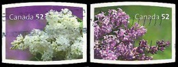 Canada (Scott No.2207-08 - Lilac) (o) Paire / Pair - 1952-.... Règne D'Elizabeth II