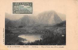 CPA LA REUNION - SALAZIE - Hell-Bourg - Mare à Poule D'eau ( 706 M. Altitude ). - La Réunion