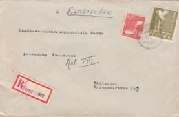 Allierter Besetzung Zehnfachfrankatur R Brief 1946 - American,British And Russian Zone