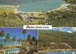 MAEVA BEACH HOTEL. MULTI VUE VIEW VISTA. TAHITI, POLYNESIE FRANÇAISE. EDIT ERWIN CHRISTIAN. CIRCA 1990s VOYAGE - BLEUP - Tahiti