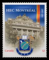 Canada (Scott No.2209i - Institut HEC) [**] Autocollant / Selfadhesive - NOTE-DC - 1952-.... Règne D'Elizabeth II