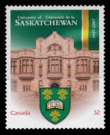 Canada (Scott No.2210i - University Of Saskatchewan) [**] Autocollant / Selfadhesive - NOTE-DC - 1952-.... Règne D'Elizabeth II