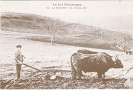 """F46-005 LE LOT PITTORESQUE - LE LABOUREUR - REEDITION """"QUERCY RECHERCHE"""" - Frankrijk"""