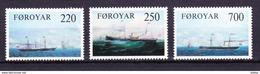 Faeröer 1983 Nr 73/75 ** Zeer Mooi Lot Krt 2991 - Isole Faroer