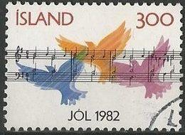 LSJP ICELAND Christmas Music Birds 1982 - 1944-... Republik