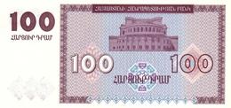Armenia P.36 100  Dram 1993  Unc - Arménie