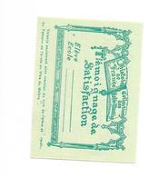 Image Témoignages De Satisfaction - Bon Point - Vieux Papiers