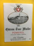 8988 -  Château Tour Maillet 1983 Pomerol - Bordeaux