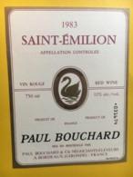 8983 -  Saint-Emilion Paul Bouchard 1983 - Bordeaux