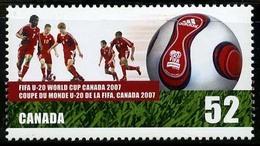 Canada (Scott No.2220 - Moins De 20 Ans / FIFA U-20/ Under 20) [**] - 1952-.... Règne D'Elizabeth II