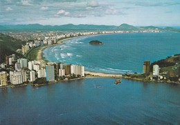 BRASIL. SANTO. VISTA AEREA DAS PRAIAS, MERCATOR CIRCA 1970s - BLEUP - Brazilië