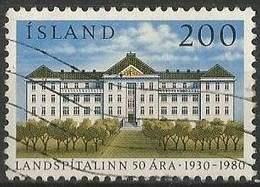 LSJP ICELAND 50 Years National Hospital Foundation 1980 - 1944-... Republik