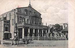 CPA MAURITIUS - Port Louis Theatre On The 14th July 1905 - Maurice