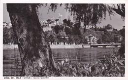 VIÑA DEL MAR, CERRO CASTILLO, CHILE.. CIRCA 1950s, VOYAGE- BLEUP - Chili