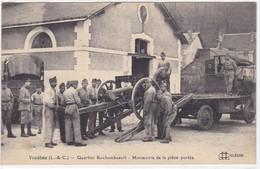 Loir-et-Cher - Vendôme - Quartier Rochambeault - Manoeuvre De La Pièce Portée - Vendome