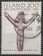 LSJP ICELAND THOUSAND YEARS OF CHRISTIANITY 1981 - 1944-... Republik