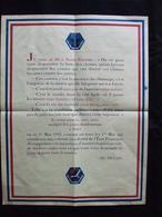 AFFICHE PROPAGANDE ETAT FRANCAIS FETE TRAVAIL 1941  MARECHAL PETAIN - 1939-45