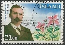 LSJP ICELAND 100 Years Icelandic Society Natural History - Oblitérés