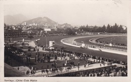 SANTIAGO, CLUB HIPICO, CHILE. CIRCA 1938 VOYAGE- BLEUP - Chili