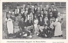 * NEUNKIRCHNER LIEDERTAFEL - Singspiel Im Bremer Keller, Karte Vor 1900, Gute Erhaltung - Neunkirchen