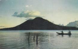LAKE ATITLAN. GUATEMALA C A. ZADIK & CO. CIRCA 1965 CIRCULEE TO ARGENTINE- BLEUP - Guatemala