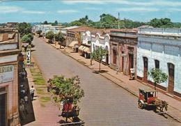 ENCARNACION, CALLE MARISCAL ESTIGARRIBIA. PARAGUAY. AGM. CIRCA 1983 CIRCULEE SUIZA- BLEUP - Paraguay
