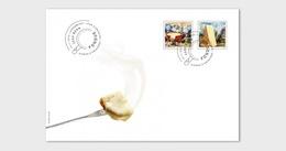 Switzerland 2018 - Fondue FDC - Unused Stamps