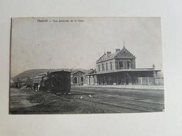 """CP """"Hamoir - Vue Générale De La Gare - De Graeve"""" - 1909 (Belgique) - Hamoir"""